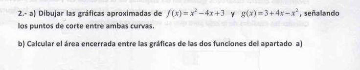Ejercicio 2A 2015-2016 Julio. Matemática, pau de Canarias, matemática 2, integrales