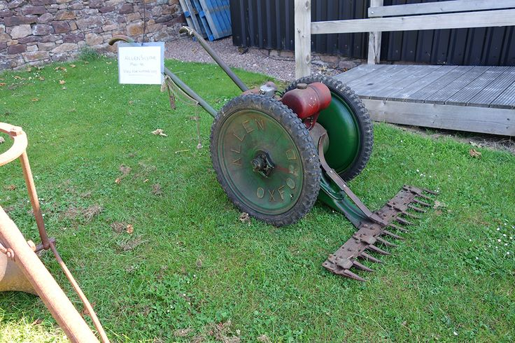 Allen motor scythe 1940s/50s - used to cut grass verges