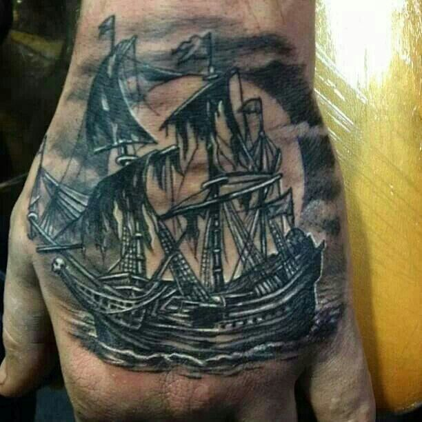 1000+ Ideas About Pirate Ship Tattoos On Pinterest