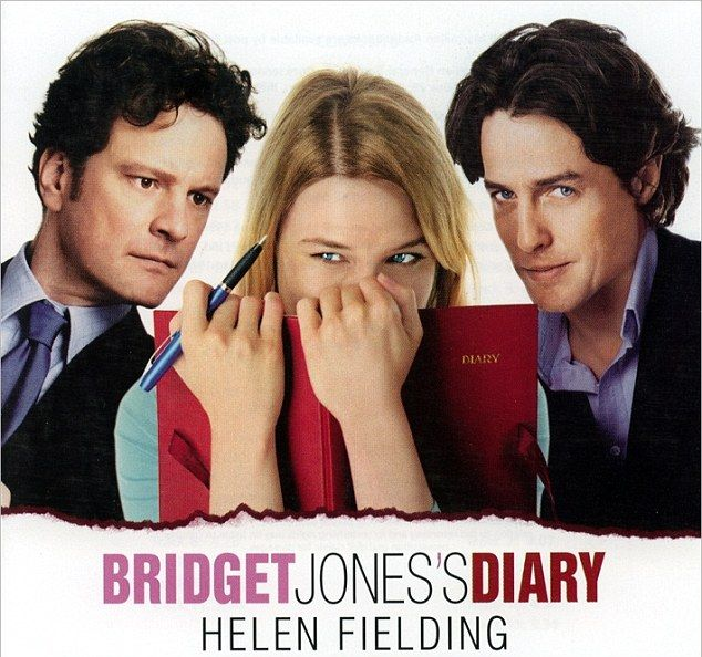 That looks familiar: The magazine cover almost seems to mimic the 2001 Bridget Jones' Diary movie poster, which included love rat character Daniel Cleaver, played by Hugh Grant