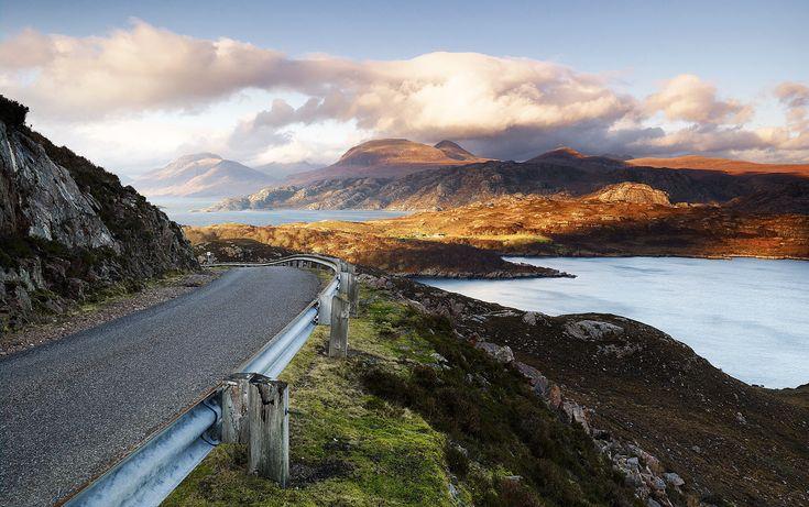 Jonathan Andrew Photography - APPLECROSS ROAD, WESTER ROSS, SCOTTISH HIGHLANDS.