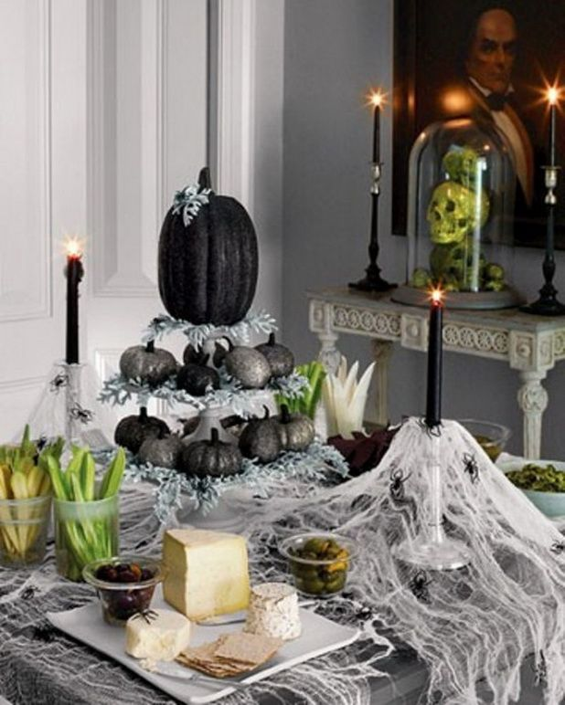 119 best Holidays Halloween images on Pinterest Holidays - halloween table setting ideas