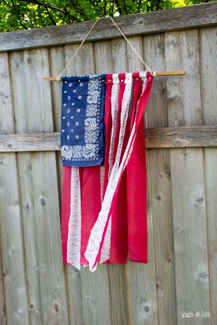 American Flag Diy American Flag Diy Flag Diy Handmade American Flag
