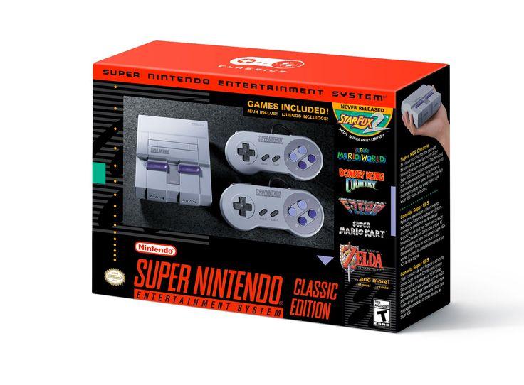 Super Nintendo Classic Edition anunciado, con 21 juegos clásicos preinstalados y disponible a partir del 29 de septiembre. - http://j.mp/2tdhAY4