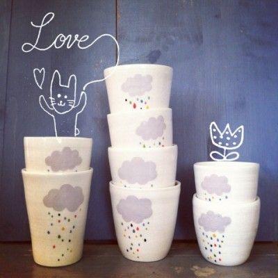 bonne fête, les mômans ! - Atelier Polkadot Ceramics