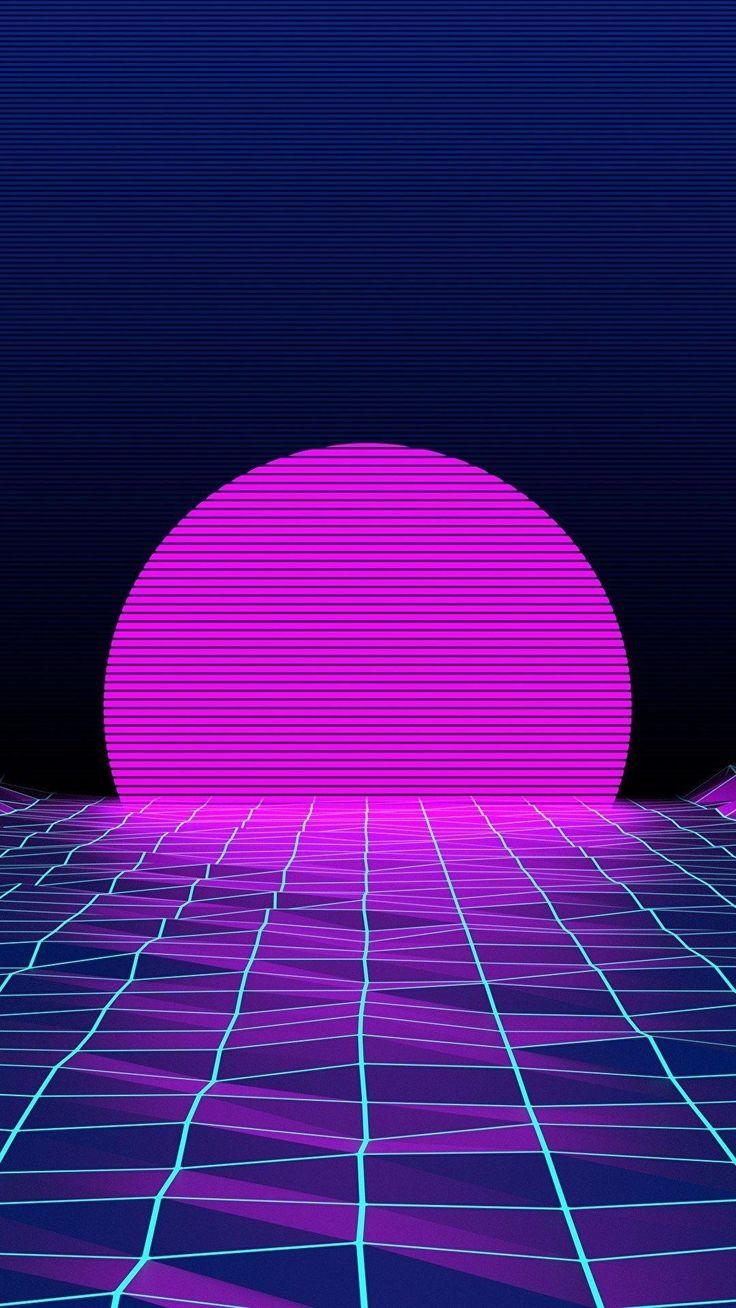 Neon Lights Wallpaper Iphone Xr (Dengan gambar) Latar