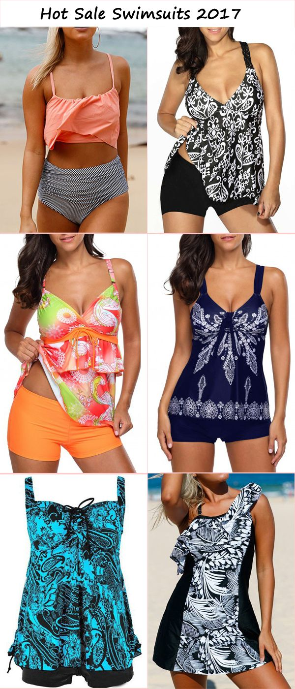 Hot Sale swimsuits for women 2017, Tankini Swimsuits 2017