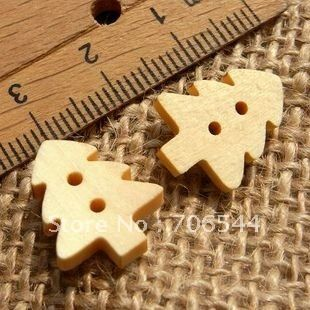 wholesale cartoons wooden  button cloth button free shipping $15.79