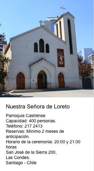 Nuestra Señora de Loreto  San José de la Sierra 200  Las Condes - Santiago