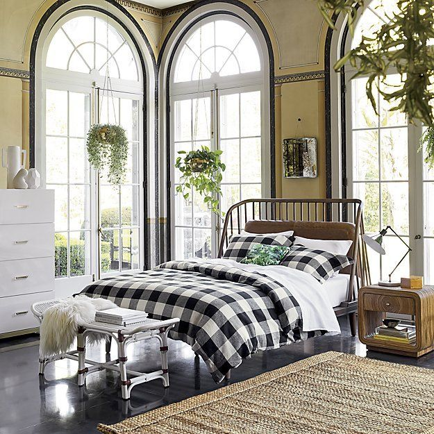 shop buffalo plaid linen bed linens meet your new favorite neutral this forever