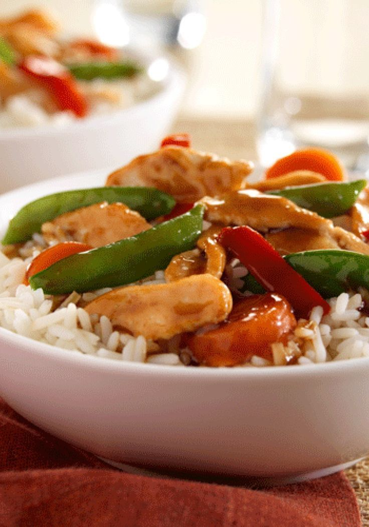 Chicken & Vegetable Stir-Fry can be made and on the dinner table in 15 quick minutes.