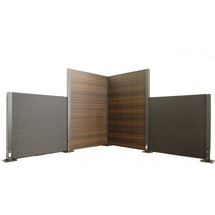 The Versare Configurable Wicker Partition System Allows You Customize The  Number And Size Of Panels And