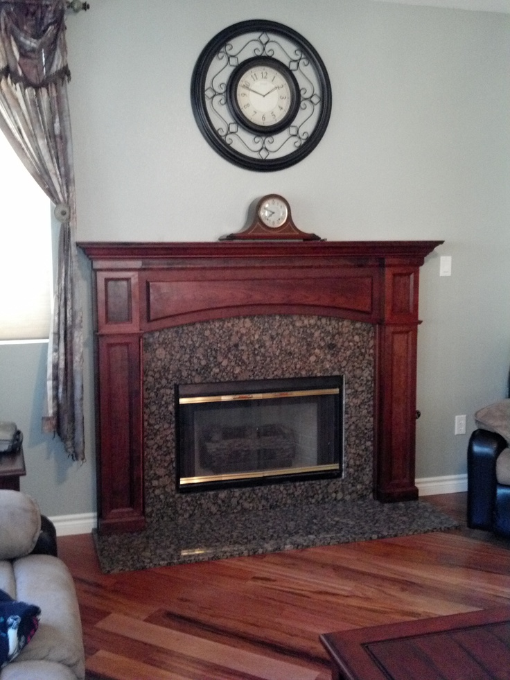 Fireplace Mantel fireplace mantel kits : 47 best Customer Mantel Remodels images on Pinterest