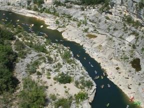 Kayaking - Ardeche - France