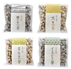 煎り豆(黒豆・大豆・青大豆・くらかけ豆) おかいもの 信州戸隠そばの実