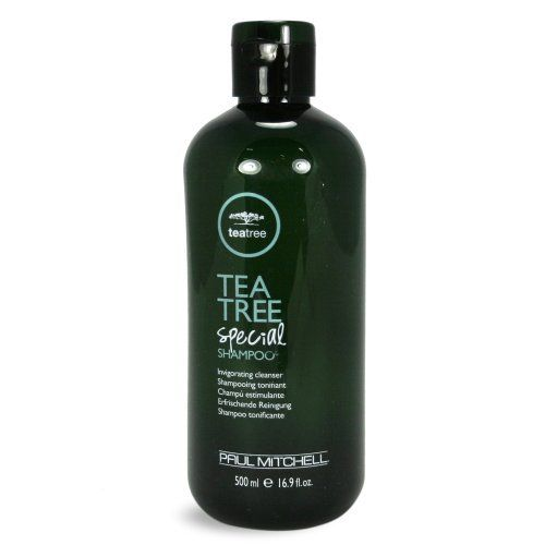 Paul Mitchell Tea Tree Shampoo, 16.9oz Green by Paul Mitchell. $25.50. Paul Mitchell Tea Tree Shampoo offers pure refreshment. This special formula stimulates the scalp to achieve healthy hair. Formulated with special conditioning agents and activated moisture blends that smooth, soften, and helps prevent moisture loss. Fortified with tea tree oil, peppermint, and lavender creates  the perfect combinations for a refreshing fragrance experience. Ingredients: Water...