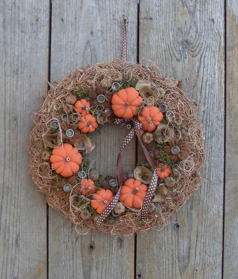 Country - őszi ajtódísz, Otthon, lakberendezés, Dekoráció, Meska
