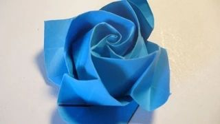 flores origami - YouTube
