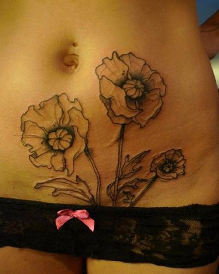 Tattoos.com | Classy and super pretty lower stomach tattoo designs! | Page 2