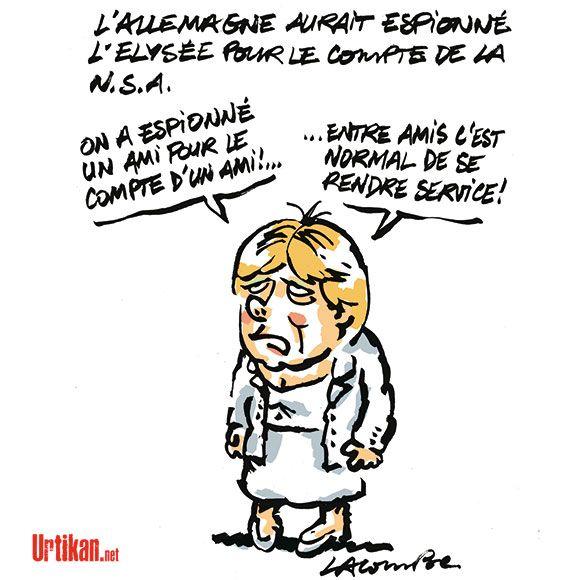 Amitié franco-allemande - Dessin du jour - Urtikan.net