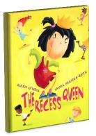 Lesson plan for The Recess Queen  by Alexis O'Neill. Mean Jean is the Recess Queen and she rules the playground with an iron fist. No one dares to question her power until a new girl named Katie Sue comes to school. Not only is Katie Sue not intimidated by Mean Jean, she actually asks Mean Jean to jump rope with her. When the two girls become friends, the playground is once again safe for all.: Queen Lessons, Recessed Queen, Recess Queen, New Girl