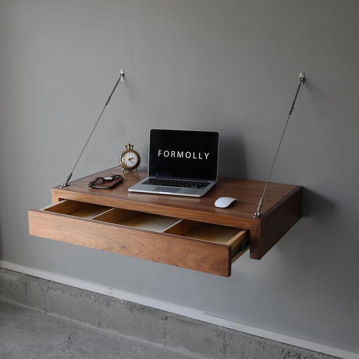 Best 25 Floating Computer Desk Ideas On Pinterest