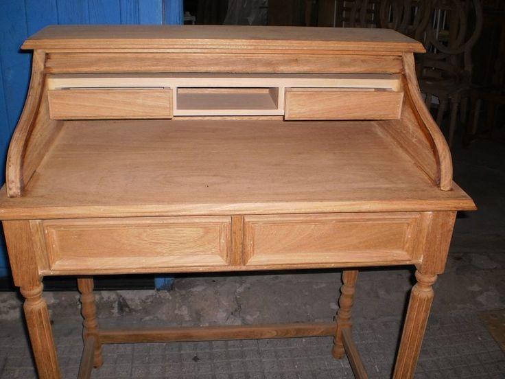 Escritorio persiana en roble muebles de estilo y for Muebles de roble modernos