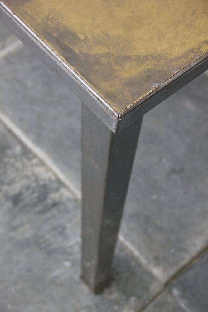 An English 1930s steel and brass desk. http://www.matthewcox.com