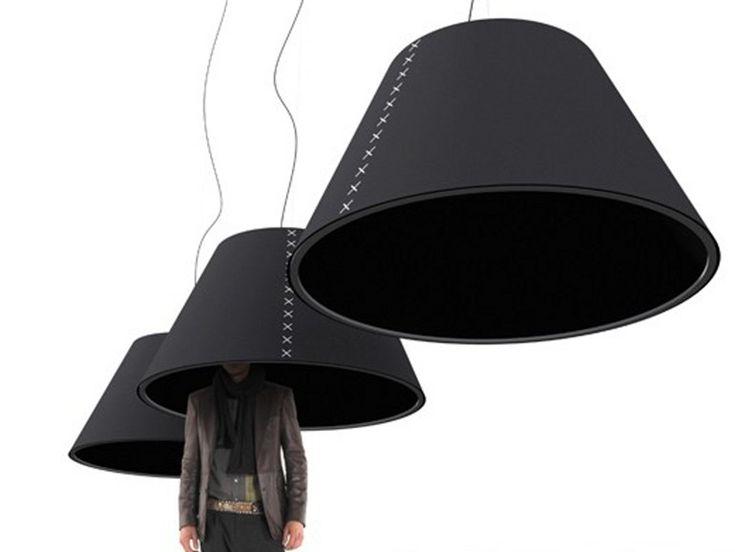 Lampada fonoassorbente a sospensione BUZZISHADE Collezione BuzziShade by Buzzispace. | design Stal Collectief