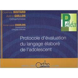 Péléa - Protocole d'évaluation du langage élaboré de l'adolescent