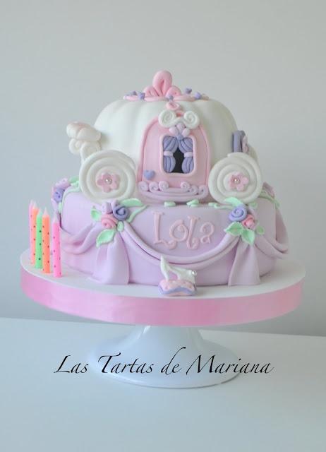 ANDALUCIA - LAS TARTAS DE MARIANA: TARTA DE CENICIENTA (Cinderella cake)