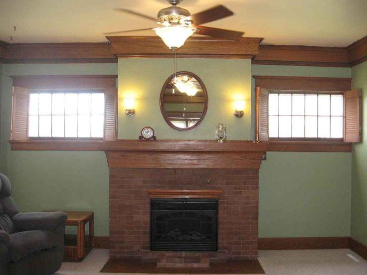 Craftsman House Fireplace