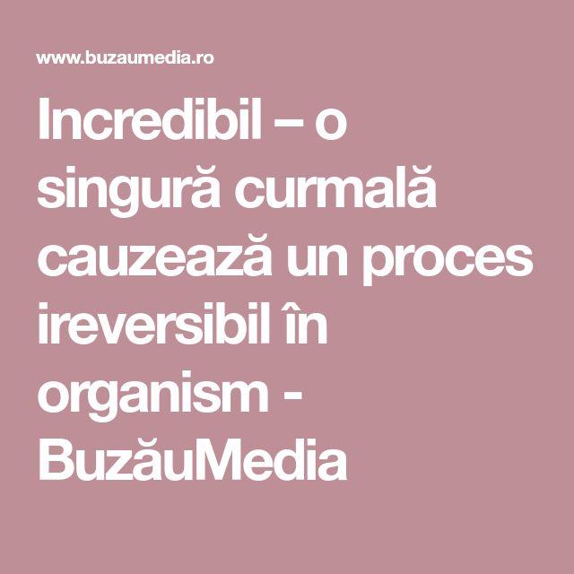 Incredibil – o singură curmală cauzează un proces ireversibil în organism - BuzăuMedia