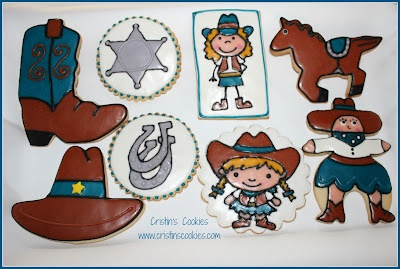 Yee-Haw Cowgirl Cookies