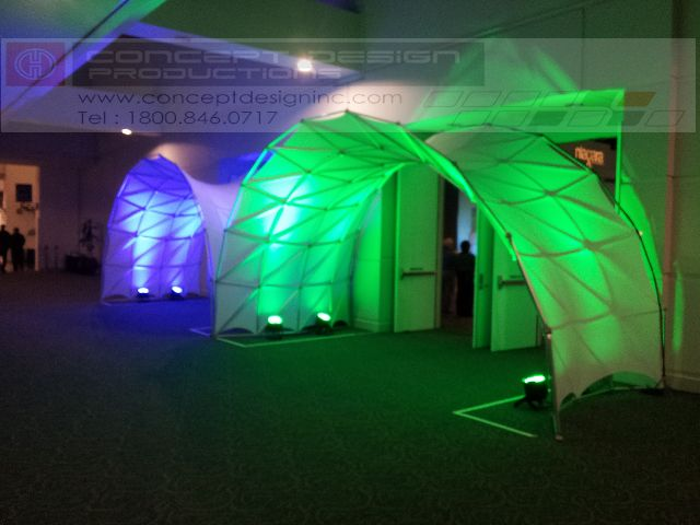 If you are looking for something new and exciting, these Space Arches are the perfect design for the door entry to your next conference! #design #events #corporate #staging #liveevents #liveshow #production  #eventplanning #event #creative #custom  #branding #logo #brand #modular