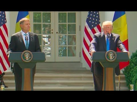 President Trump Fires Back at James Comey | Full Press Conference with President of Romania JUN 10 2017 -  YouTube