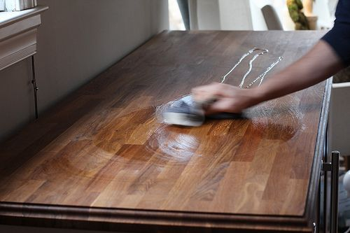 Wax On Off Butcher Block Oil Treatment Update Old Town Home Kitchen Sept Details Blocks And