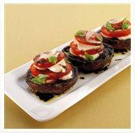 Grilled Portobello Mushroom In A Porcini Cream Sauce Recipe ...