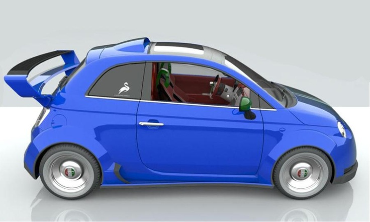 watch out wrx: Cars Design, Design 550, Design Fiat, Image Fiat 550 Italia Lato Jpg, Fiat Ferrari, Fiat550 Italia, Fiat 500, Ferrari Fiat, Lazzarini Design