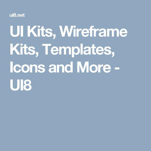 UI Kits, Wireframe Kits, Templates, Icons and More - UI8