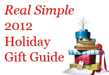 Real Simple 2012 gift guide