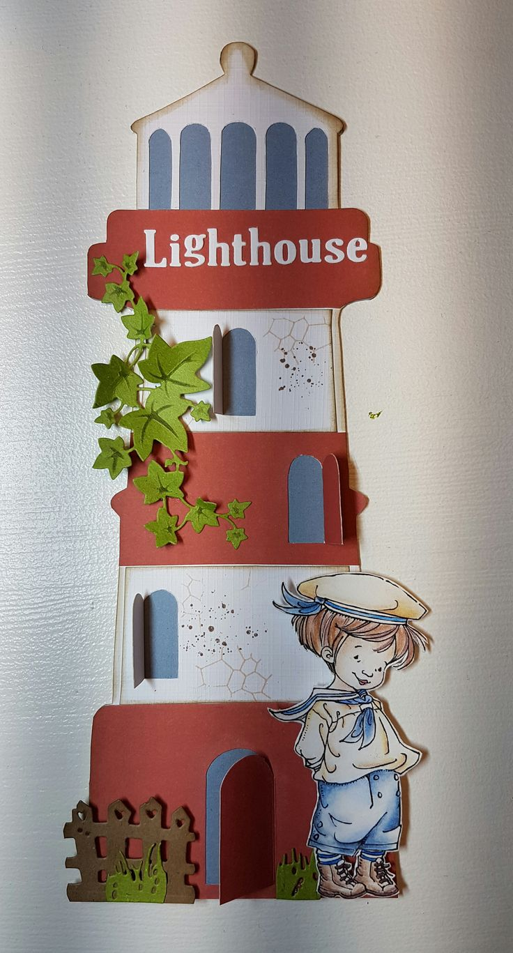 470.990.003 Dutch Doobadoo Card Art Lighthouse