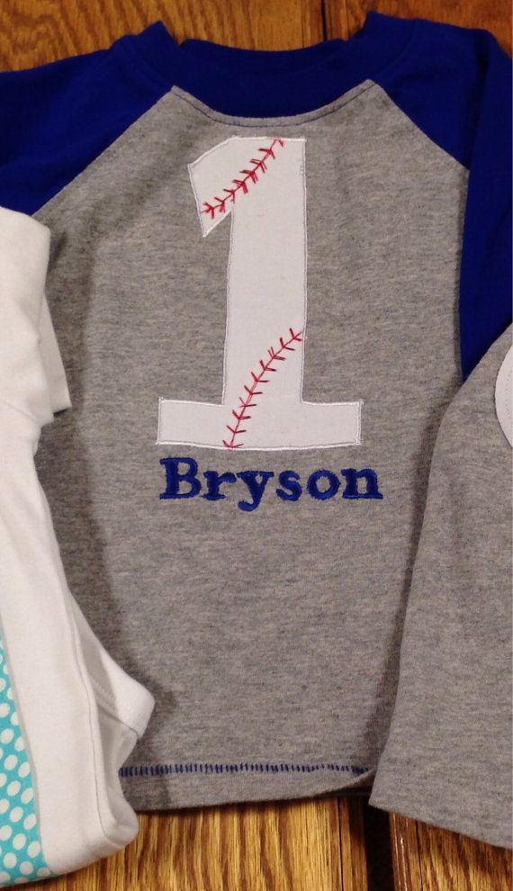 Baseball first birthday shirt, baseball 1st birthday, boys baseball 1