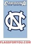 "North Carolina Tar Heels Applique Banner Flag 44"" x 28"" - 2 left"