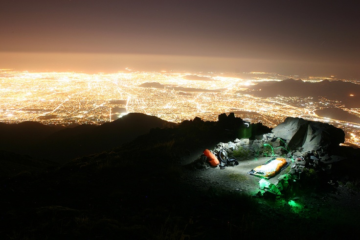 Santiago desde el Cerro Provincia. Foto de Roberto Pérez Rodríguez.