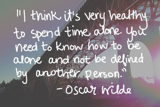 oscar wilde quotes | oscar wilde quote alone