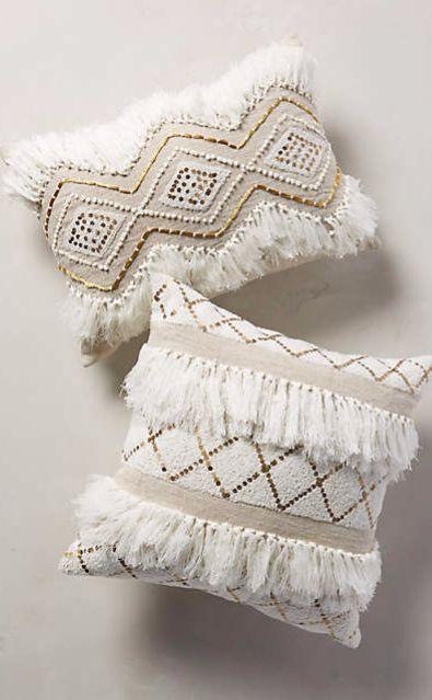 Moroccan Wedding Pillow #anthrofave
