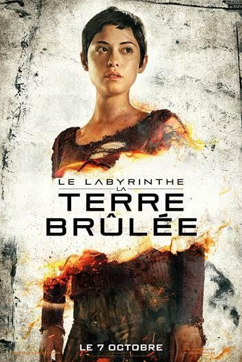 Le Labyrinthe : La Terre Brûlée // BA + Affiches