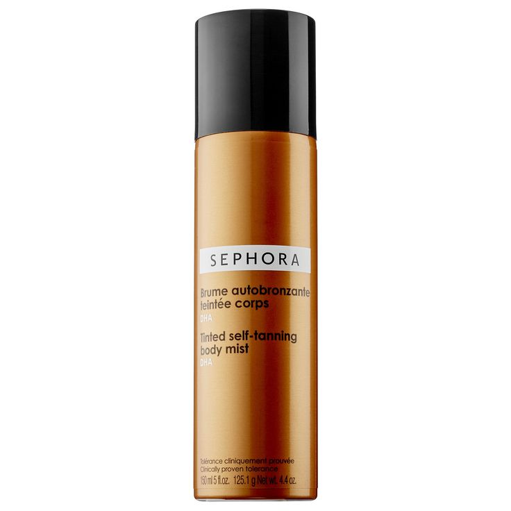 Best self tanning spray: SEPHORA COLLECTION Tinted Self-Tanning Body Mist