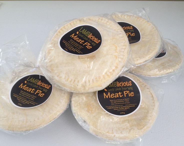 LAMBlicious meat pies.  www.lamblicious.ca www.facebook.com/lamblicious